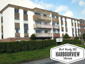 2 BEDROOM IN HARBOURVIEW (HYDRO/HEAT INCLUDED!)