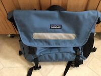 Patagonia courier bag - light blue - great condition