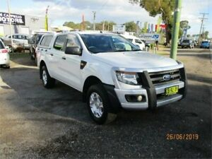 2013 Ford Ranger PX XL 2.2 (4x4) 6 Speed Manual Crew Cab Utility Heatherbrae Port Stephens Area Preview