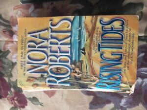 Nora Robert Books and Danielle Steele