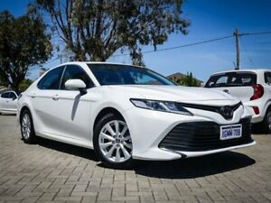 2018 Toyota Camry ASV70R Ascent White 6 Speed Sports Automatic Sedan Morley Bayswater Area Preview