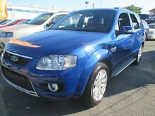 2010 Ford Territory SY Mkii Ghia AWD Blue 6 Speed Sports Automatic Wagon Greenslopes Brisbane South West Preview