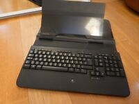 Logitech Alto Notebook Stand with Integrated Keyboard