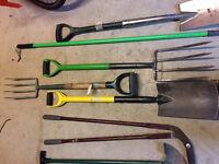 Garden Tools £10 -
