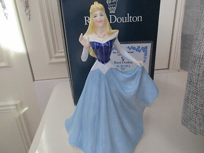 ROYAL DOULTON DISNEY AURORA SLEEPING BEAUTY 1996 BOXED LTD EDITION