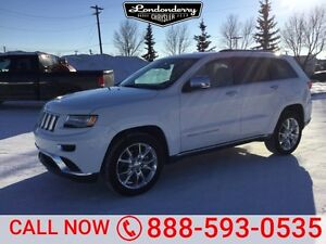 2015 Jeep Grand Cherokee 4WD SUMMIT Navigation (GPS),  Leather,