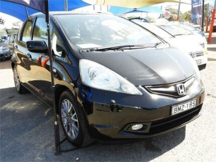 2010 Honda Jazz GE MY10 GLI Vibe Black 5 Speed Manual Hatchback Minchinbury Blacktown Area Preview