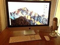 "27"" iMac Core i7 2.8ghz 16g ram late 2009: £350 Exeter"
