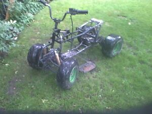 4wheeler project trade for a decent bmx or cash