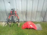 Honda ATC front end Big Red and front fender