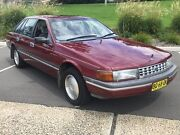 1990 Ford Fairlane NA II Red 4 Speed Automatic Sedan Lisarow Gosford Area Preview