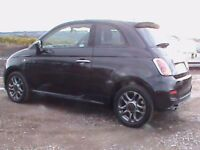 FIAT 5OO S 3 DR BLACK £30 RD TAX HISTORY KNOWN CLICK ON VIDEO LINK TO FIND OUT MORE ABOUT THIS CAR
