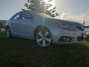 2013 Holden Cruze JH Series II MY13 Equipe Nitrate 6 Speed Sports Automatic Sedan South Burnie Burnie Area Preview