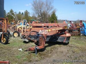 New Holland 411 Discbine Mower Conditioner