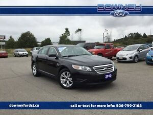 2010 Ford Taurus SEL Leather Htd Sts Push Button Start Sun Roof