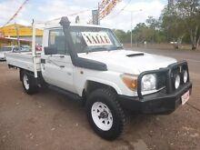 2007 Toyota Landcruiser 79 White Manual Utility Winnellie Darwin City Preview