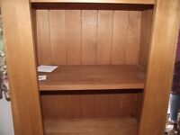 Beautiful Solid Wood Craftsman Made Shelf Unit/Bookcase