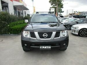 2009 Nissan Pathfinder R51 MY08 Titanium Black 5 Speed Automatic Wagon North Parramatta Parramatta Area Preview