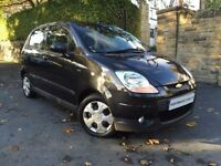 CHEVROLET MATIZ 1.0 SE A/C 5d 65 BHP 1 OWNER FROM NEW+FSH+12M MOT+ (black) 2009