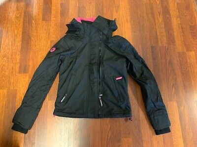NEW-WOMEN'S SUPERDRY HOODED ARCTIC WINDCHEATER JACKET, # G50004NS, SZ 6, $67.50