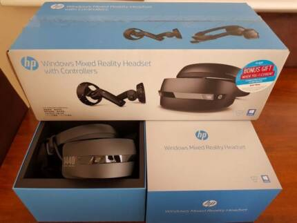 New HP Windows Mixed Reality Headset Worth $800.00