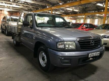 2005 Mazda B2600 Bravo DX Grey 5 SP MANUAL Cab Chassis