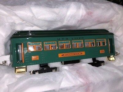 mth 300 series passenger car Tin Plate Series 10-5014 NIB