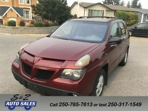 2002 Pontiac Aztek Tent package-local one owner!