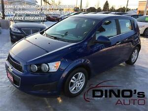 2012 Chevrolet Sonic LT | $43 Weekly *OAC $0 Down / Auto / A/C