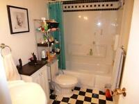 WOW Bathroom completely RENOVATED. 2 bdrm + DEN VIEW!!!!!