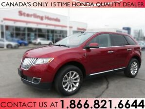 2013 Lincoln MKX NO ACCIDENTS