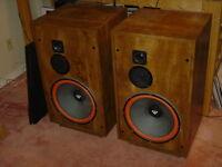 Cerwin Vega U-351 speakers
