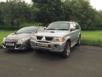 Mitsubishi Shogun Sport Warrior TD Limited Edition - Leather seating - 1 previous owner - Long MOT