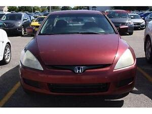 2003 HONDA ACCORD MANUELLE CLIMATISEE 4 CYLINDRES 2PORTES