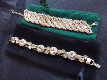 2 x Crystal Bracelets - NEW