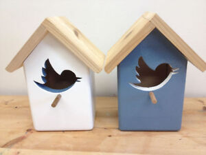 Hand Crafted Solid Wood Bird Houses and Feeders