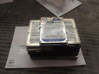 "Internal 750GB Laptop 2.5"" Hard Disk Drive FORMATTED WORKING"