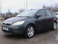 FORD FOCUS 1.6 STYLE 5 DR GREY 1 YRS MOT,CLICK ON VIDEO LINK TO SEE AND HEAR MORE DETAILS OF CAR