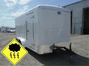 7 x 14 ENCLOSED TRAILER - HAIL SALE ON NOW!! HUGE SAVINGS!!