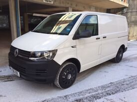 Volkswagen Transporter T28 2.0 TDi Startline BMT SWB (white) 2016