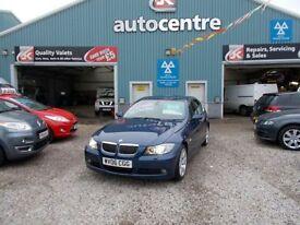 BMW 3 SERIES 2.5 325I SE 4d 215 BHP 3 months warranty (blue) 2006