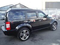 Black metallic Dodge nitro 2.7 diesel automatic , 46000mi , lovely car £8500