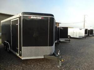 EXTRA HEIGHT heavy duty enclosed trailer
