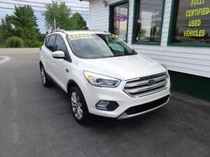 2018 Ford Escape Titanium AWD for only $239 bi-weekly all in!