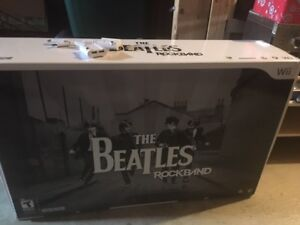 Nintendo WII Limited Edition Beatles Rock Band kit