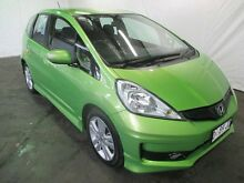 2013 Honda Jazz GE MY12 Update Vibe-S Green 5 Speed Automatic Hatchback Invermay Launceston Area Preview