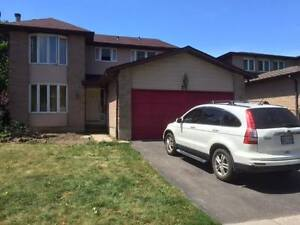 Nice master bedroom with private bathroom -newmarket/aurora