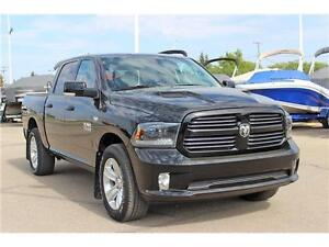 2015 Ram 1500 Sport SK Tax Paid Crew Cab 4X4 *Navigation*