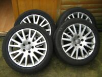 Audi A3 A4 A5 original wheels and tyres