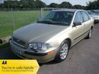 VOLVO S40 S S40 - ONE OWNER - FSH - LOW MILEAGE - AUTO - Beige Petrol, 200